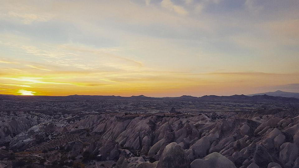 Cappadocia Ultra-Trail - Coucher de soleil
