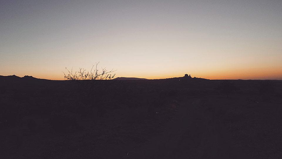 Cappadocia Ultra-Trail - Tombée de la nuit